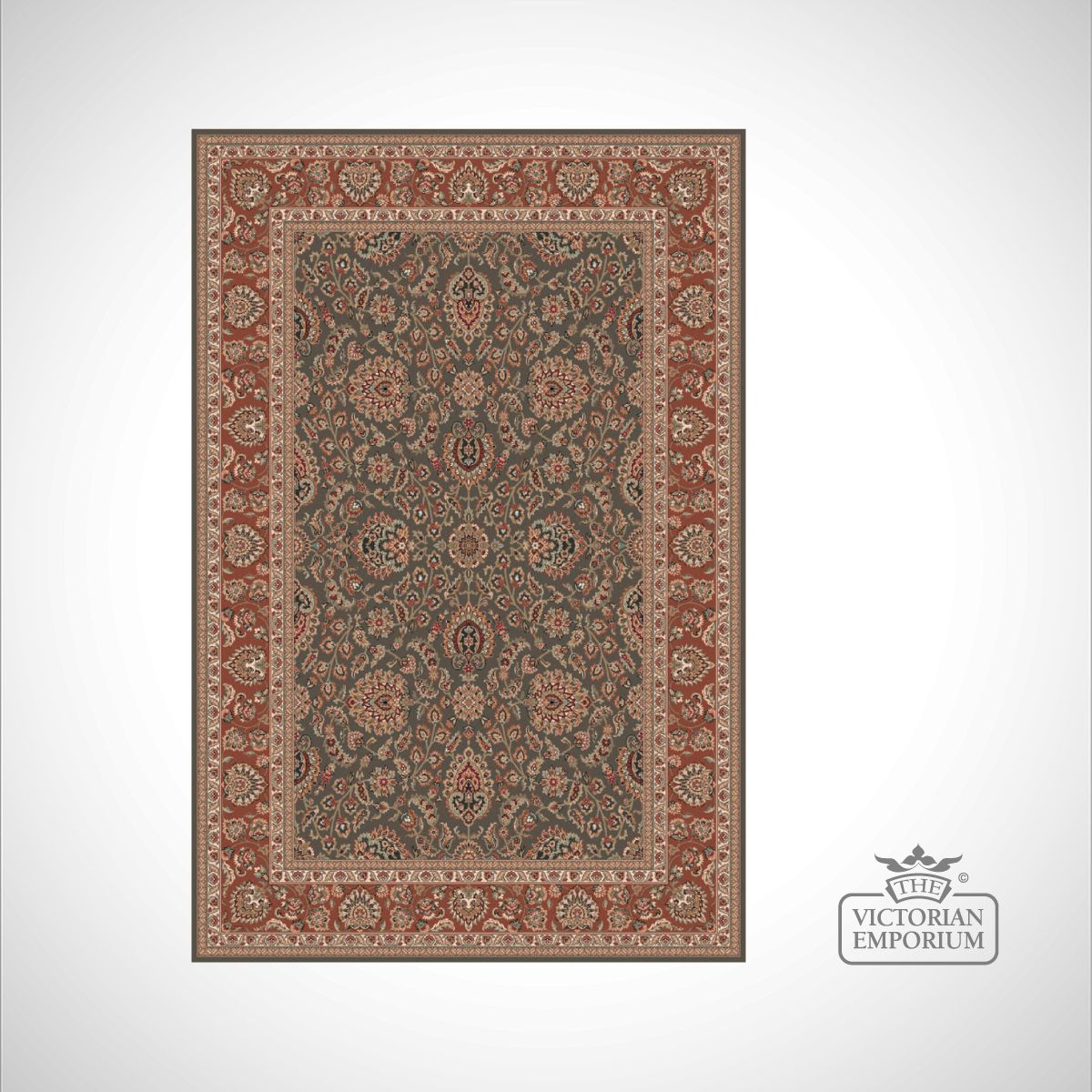 Victorian Rug Style Fa5686 In Choice Of 3 Colourways Rugs