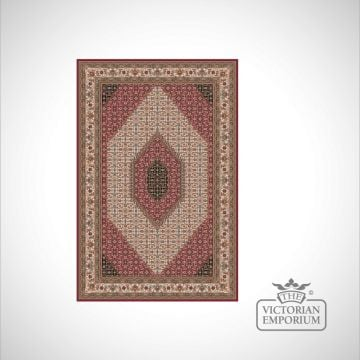 Victorian Rug - style NA1278 Red