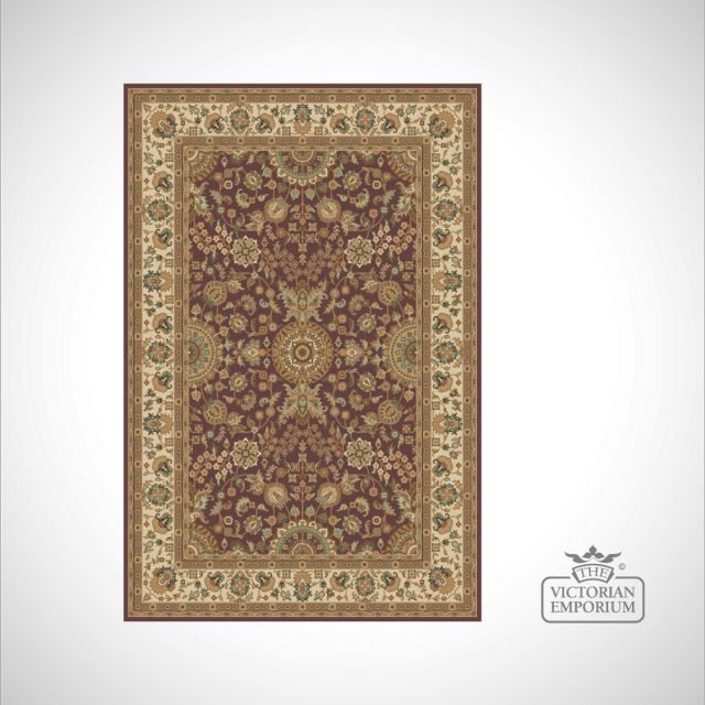 Victorian Rug - style KM4149 in Red