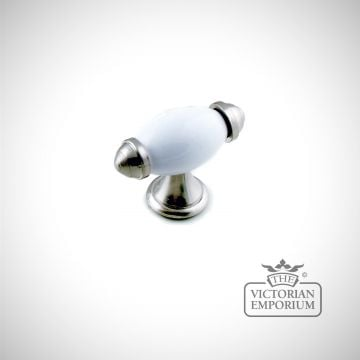 Montpellier white stainless steel t knob