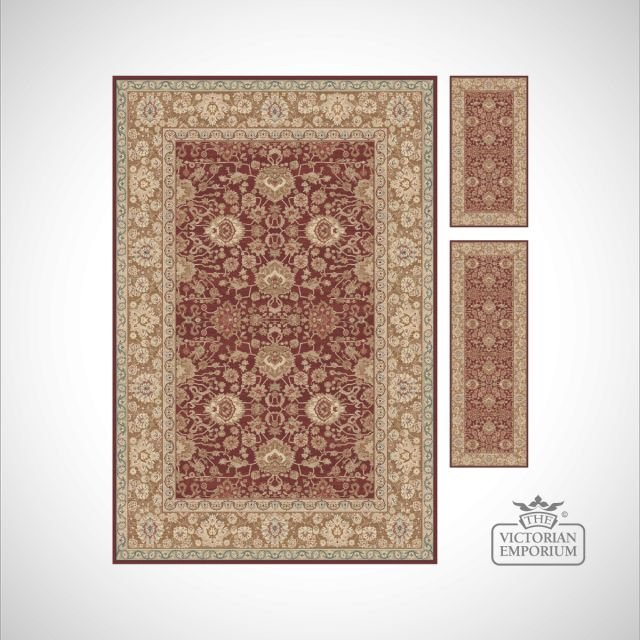 Victorian Rug - style KM4472 in choice of 6 colourways