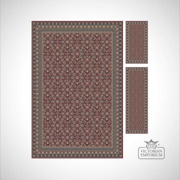 Victorian Rug - style KA12176 Red