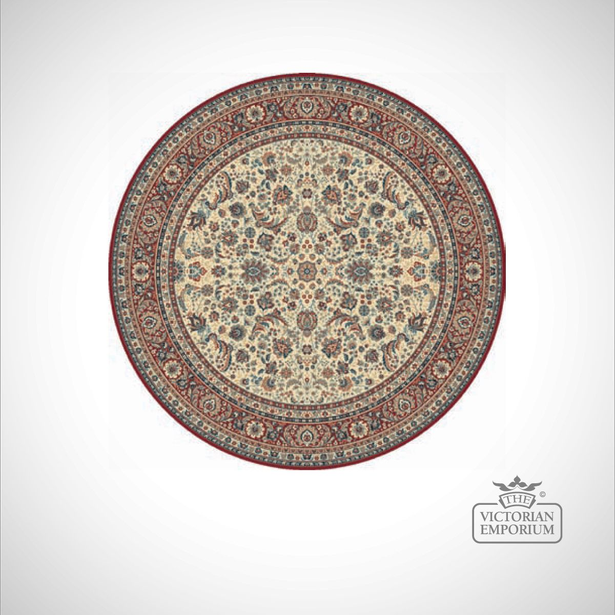 Circular Victorian Rug Style Ka13720 In 6 Different
