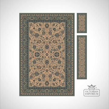 Victorian Rug - style RO1561 in 7 colourways