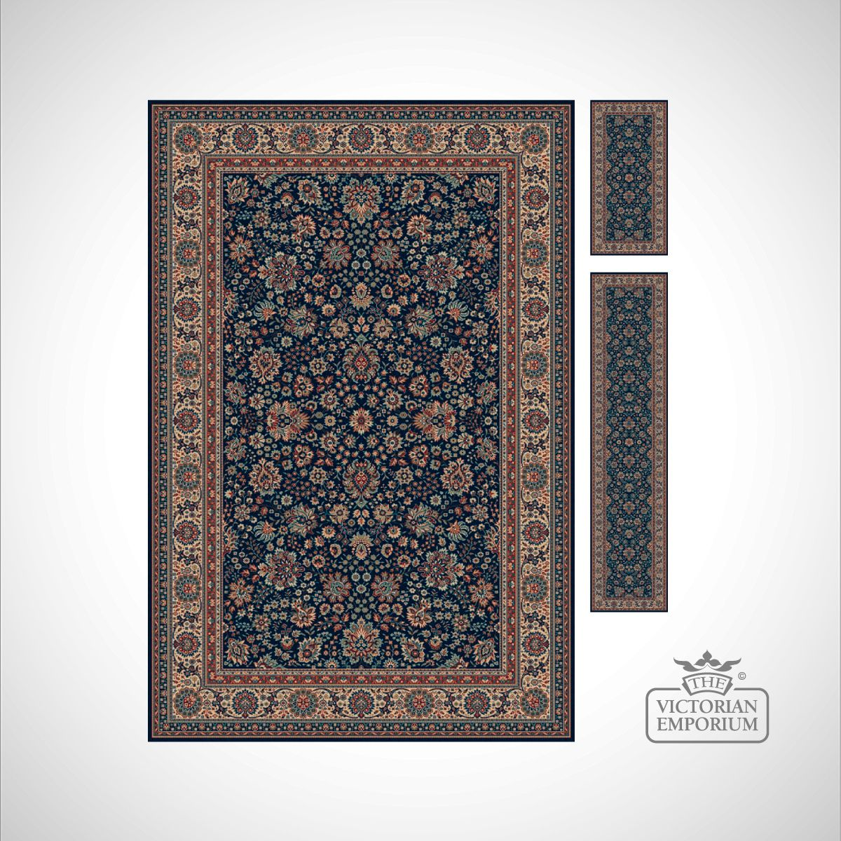 Victorian Rug Style Ro1561 In 7 Colourways Rugs