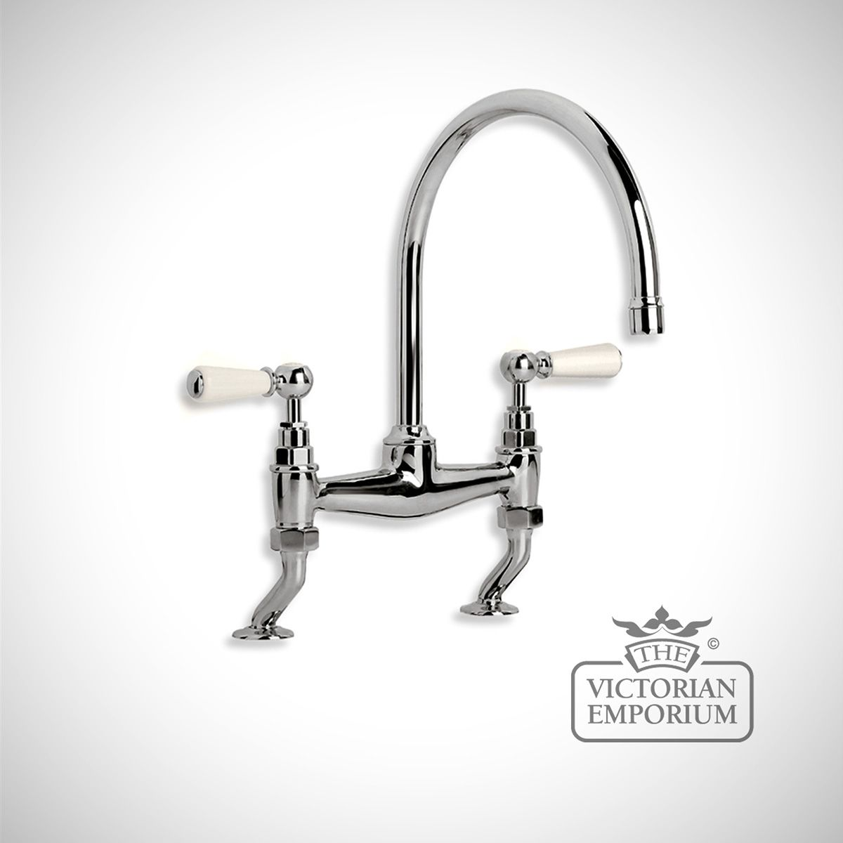 Tap Mixer Basin Bath Shower Br Crome Nickle Radiator Bathrom Traditional Victorian 19thcentry Steampunk Old Clical