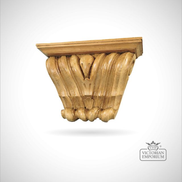 Extra Wide Reeded Corbel