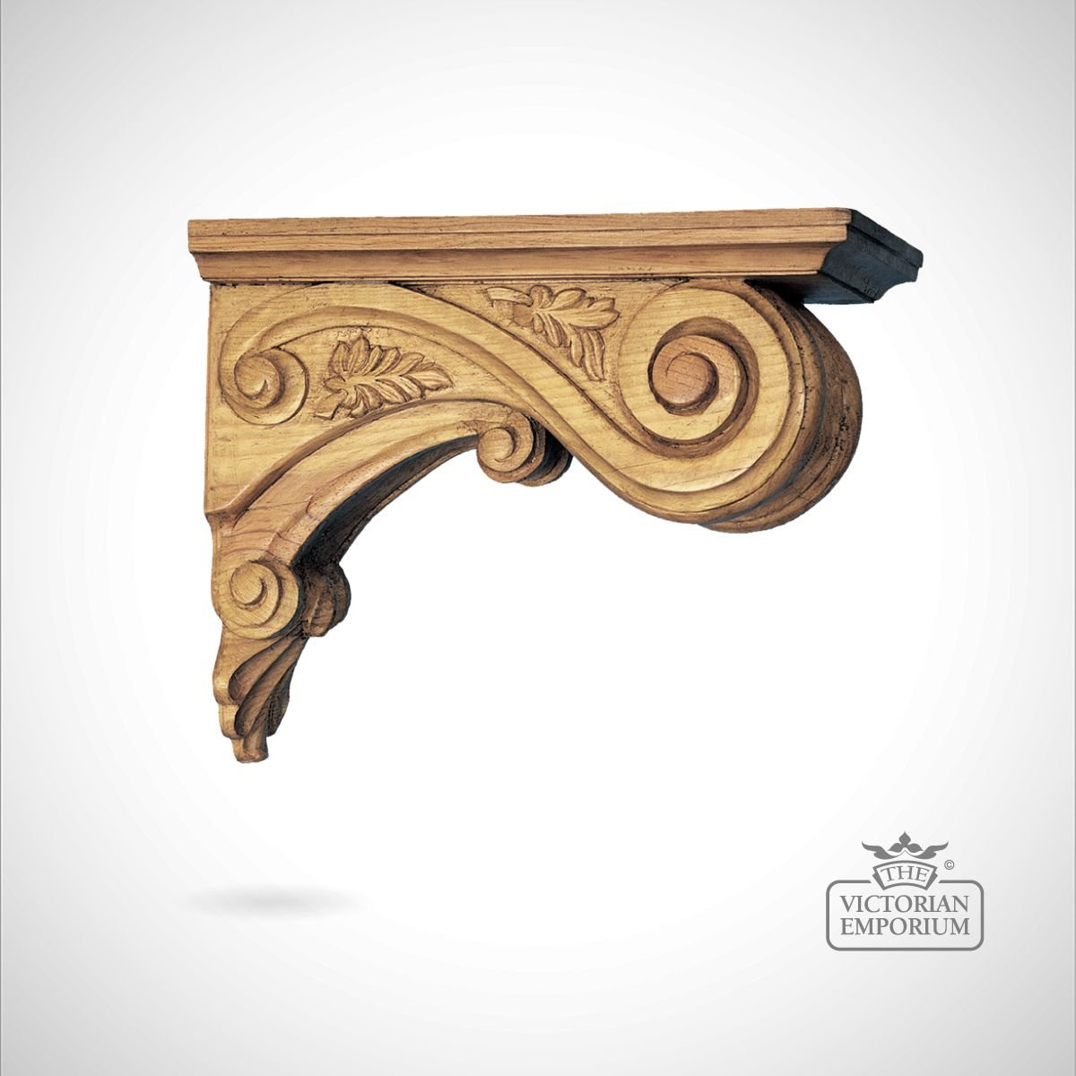 Decorative Leaf Ceiling Corbel | Corbels