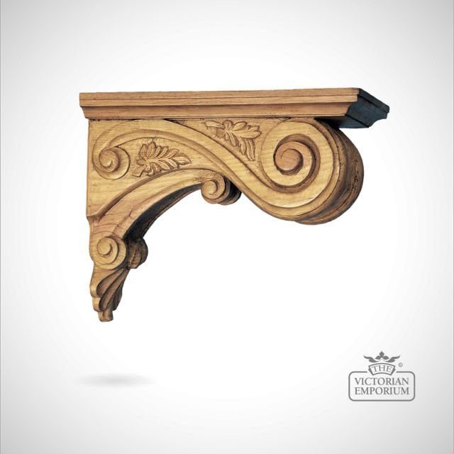 Decorative Leaf Ceiling Corbel