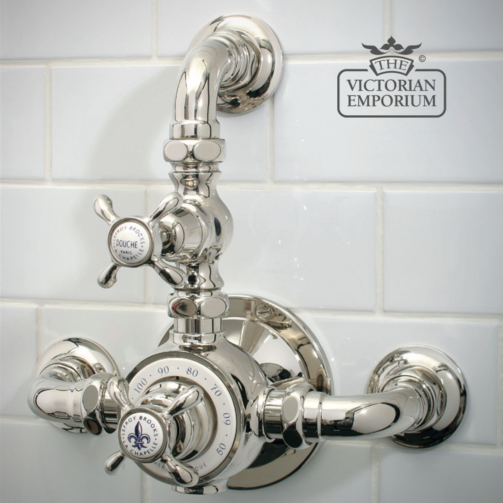 Exposed Dual Control Thermostatic Mixing Valve Bath