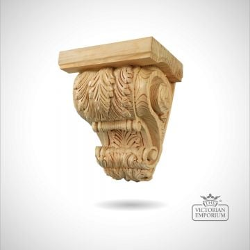 Feature Leafed Corbel