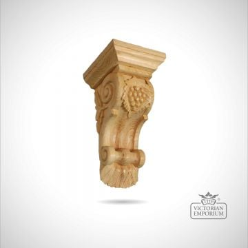 Large Corbel with Grapes