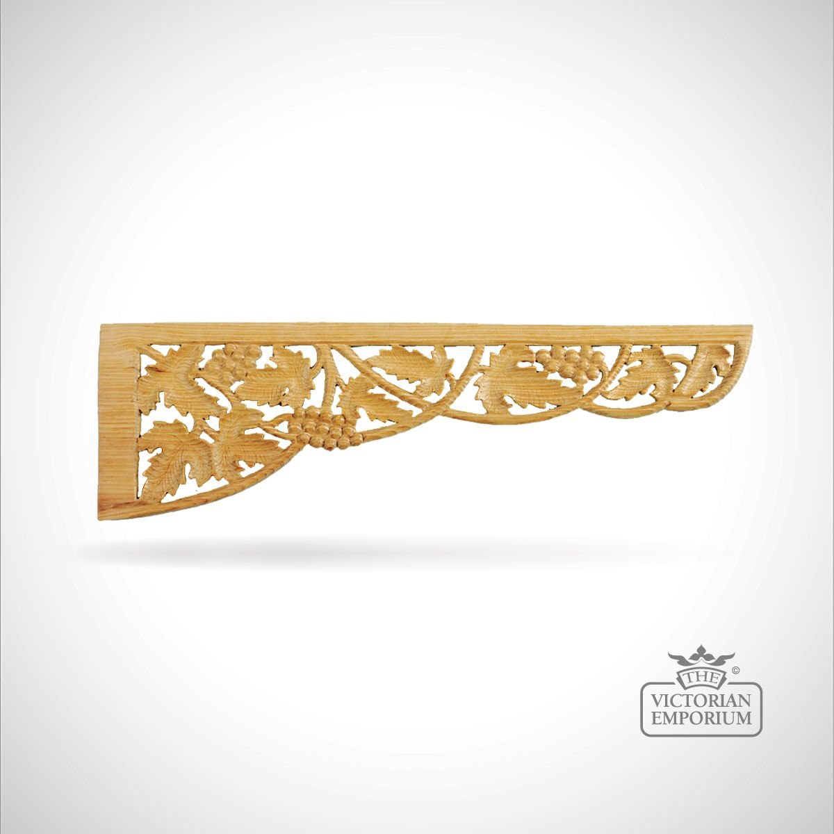 Large vineleaf spandrel decorative mouldings for Decor moulding