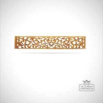 Foliate Pierced Carved Panel