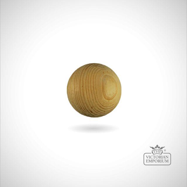 Plain round knob