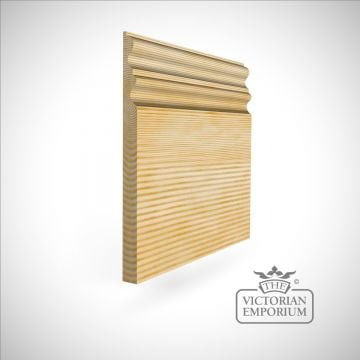 Tall skirting with ridged profile 300 x 21mm
