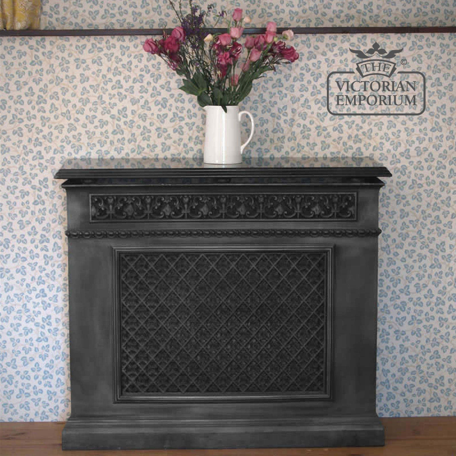 Decorative Cast Iron 1 Panel Radiator Cover