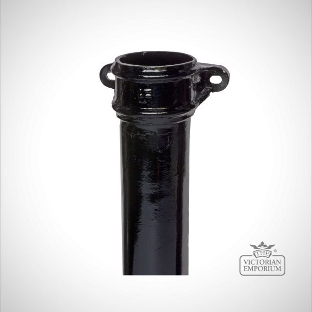 Round eared pipe - black