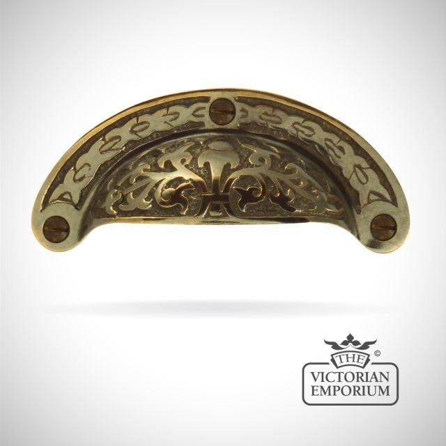 Decorative Edwardian drawer pull