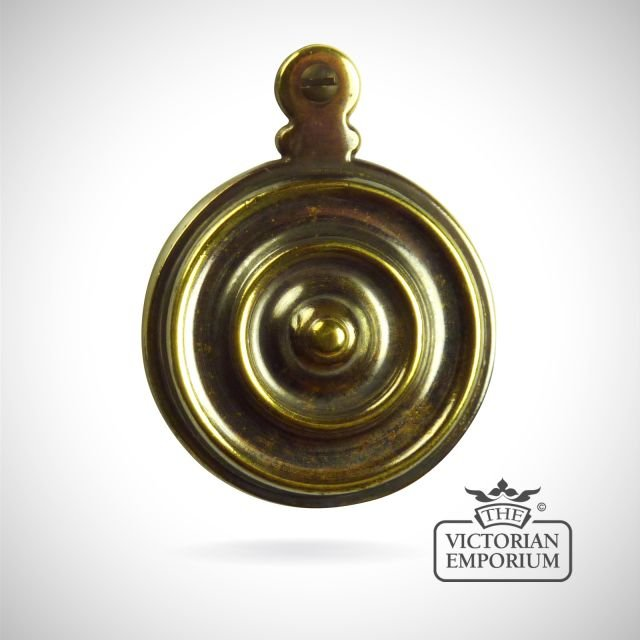 Bed bolt cover with circular design