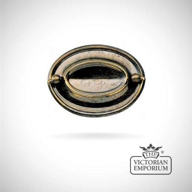 Really plain Oval plate handle