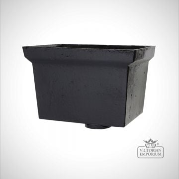 Rectangular Plain Head - black