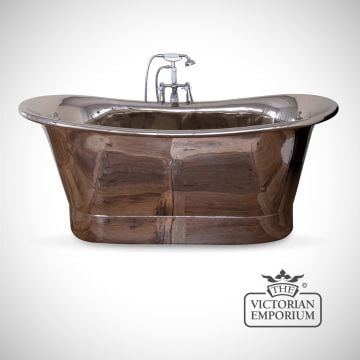 Copper-bath-with-nickel-exterior-and--interior-traditional victorian 19thcentry -old classical decorative-ss002a