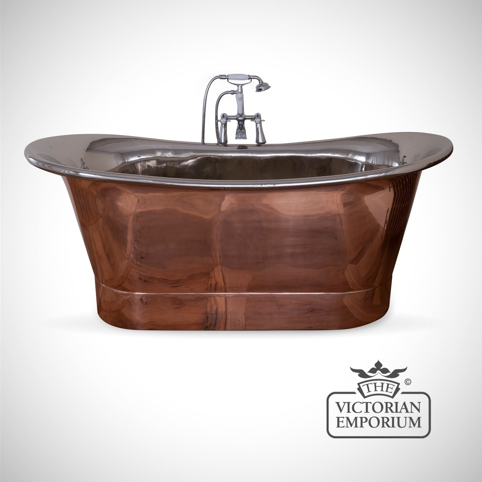 Normandie Copper and Nickel Bath | Baths