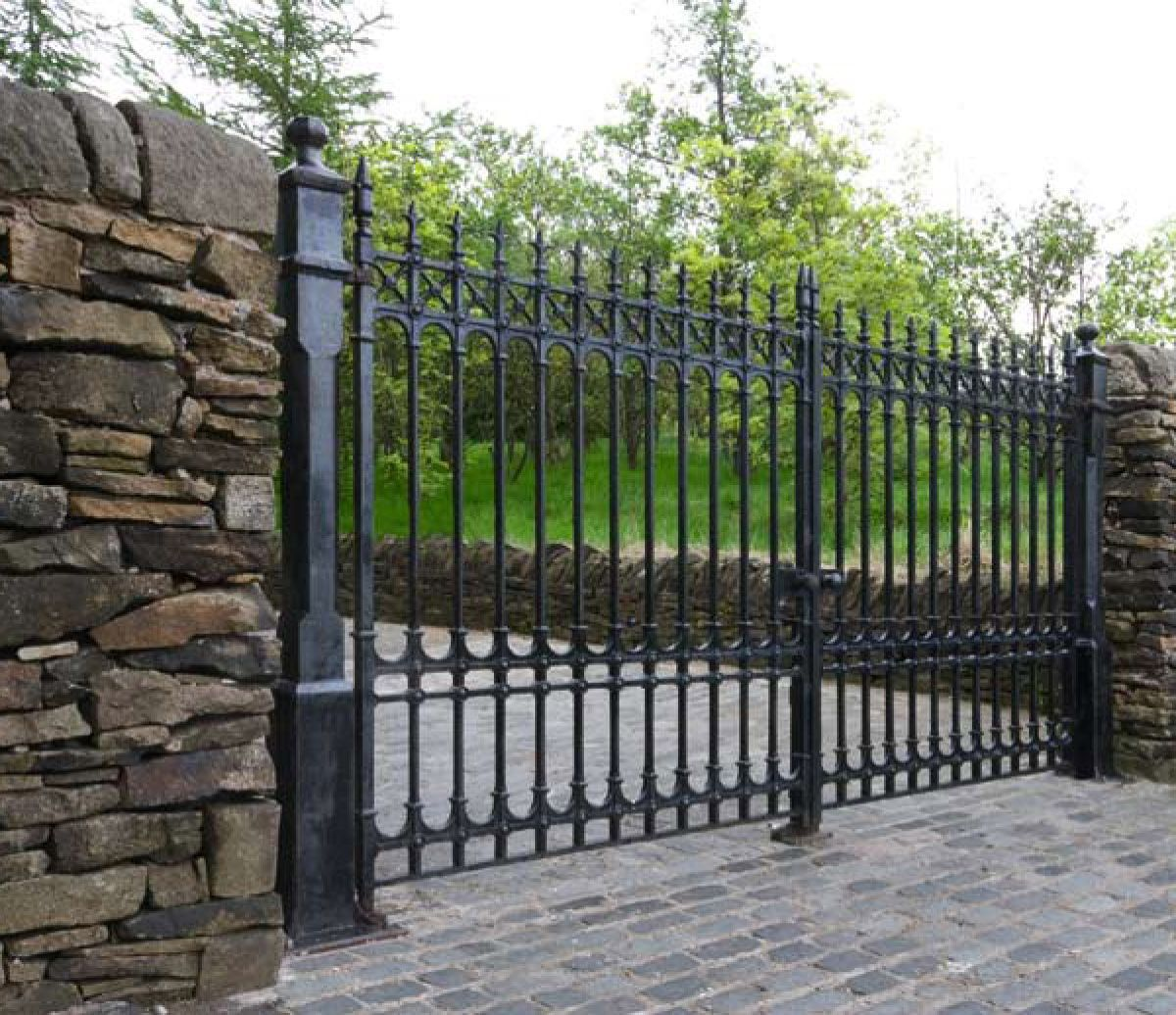 Colchester Driveway Gates 14ft Pair 6 5ft Height