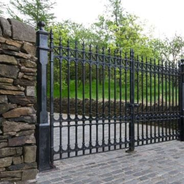 Colchester Driveway Gates - 14ft pair 6.5ft height