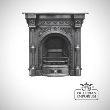 Tweed design cast iron fireplace
