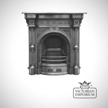 Tweed design cast iron fireplace