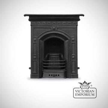 Hawthorne Victorian style cast iron fireplace