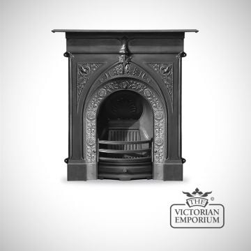 Knaresborough Georgian style cast iron fireplace