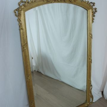 19th Century Delicate Overmantel Mirror