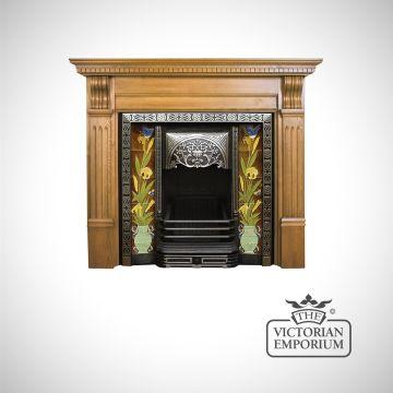 Aladin Fireplace insert