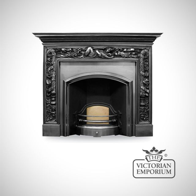 London Fireplace insert (wide)