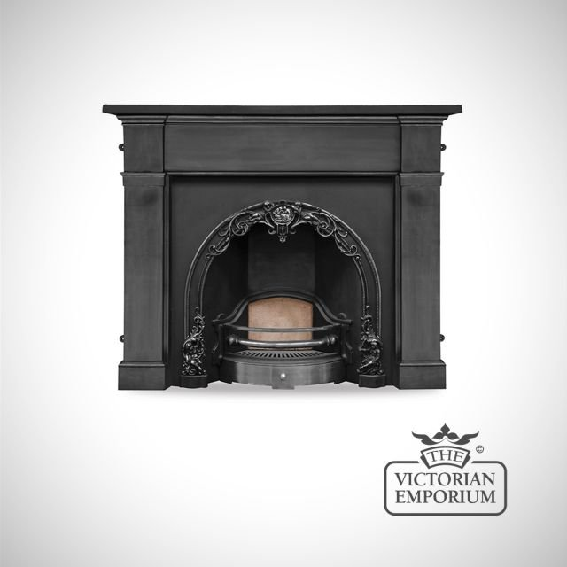 Cherry Fireplace insert
