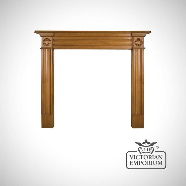 The Derry Wooden Fireplace surround - choice of pine and oak