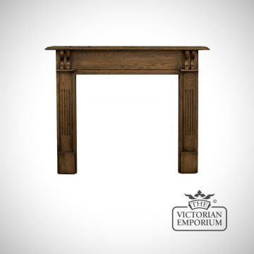 The Earlsfield Wooden Fireplace surround in a distressed finish