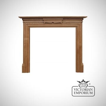 The Grande surround in waxed oak