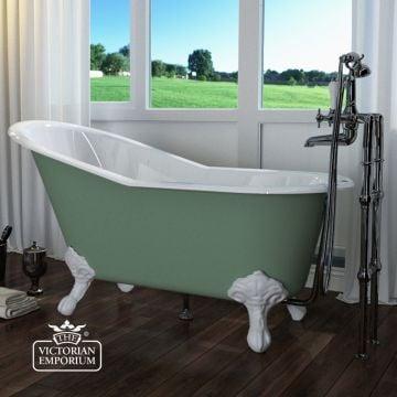Beaulieu bath - painted