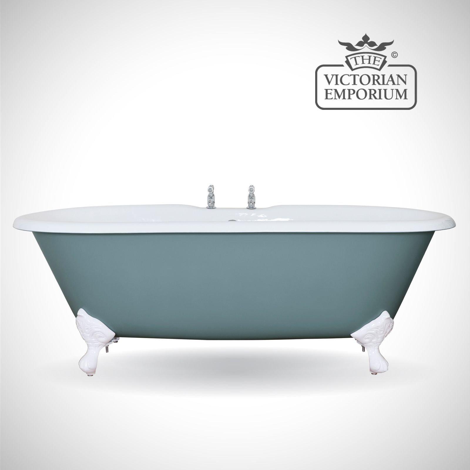 Bisleigh cast iron bath - painted | Baths