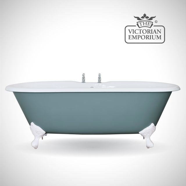 Bisleigh cast iron bath - painted
