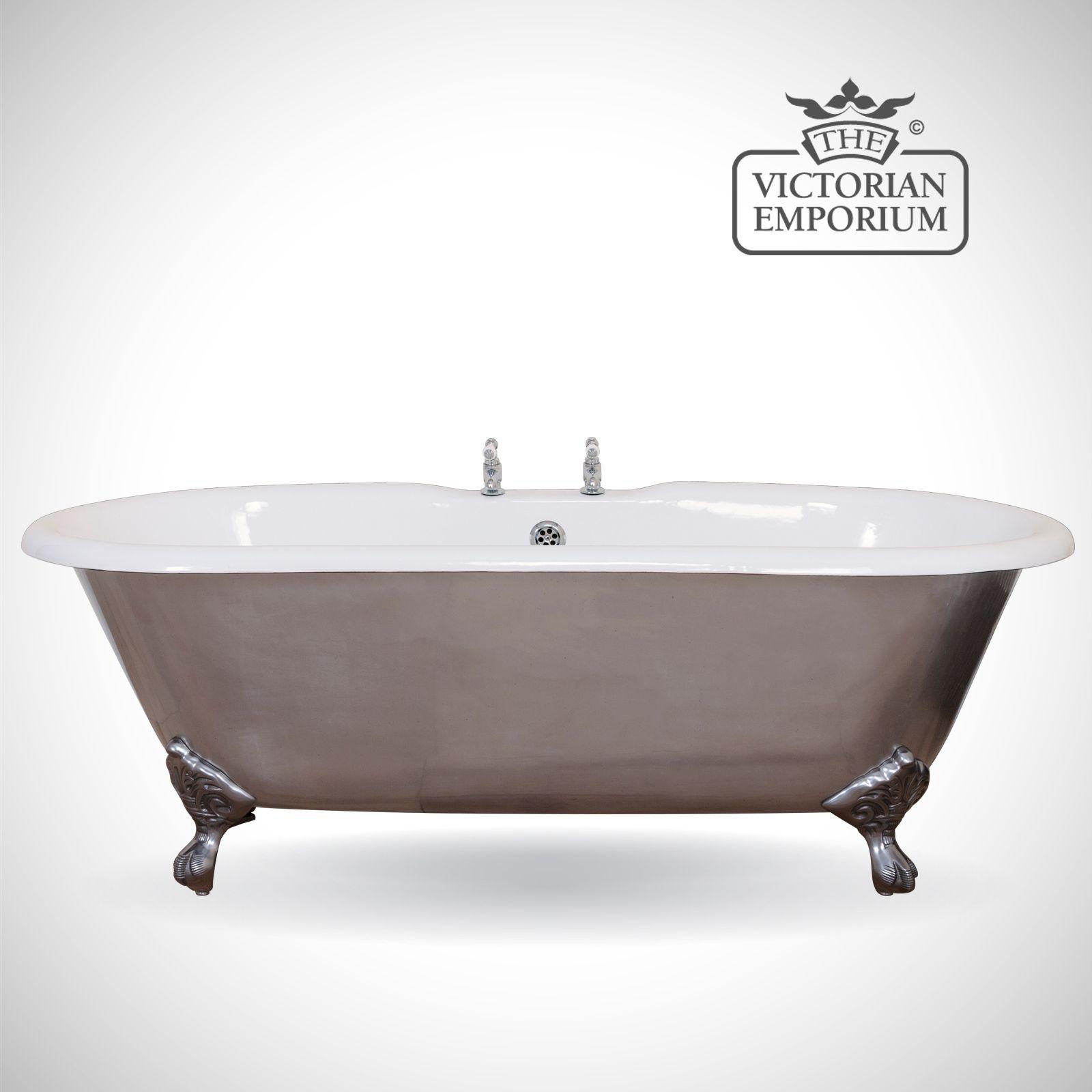 Bisleigh cast iron bath - polished | Baths