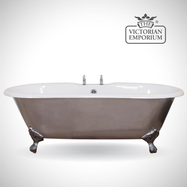 Bisleigh cast iron bath - polished