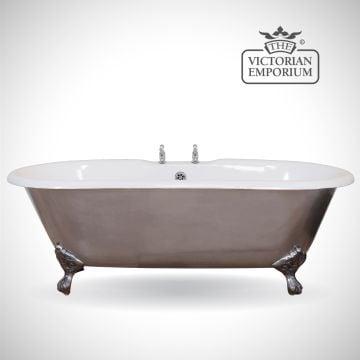 Bisleigh cast iron bath - polished