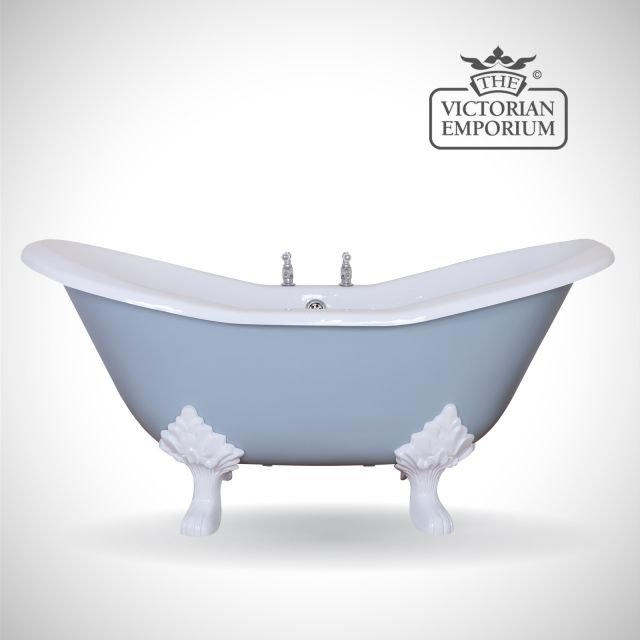 Banbury cast iron bath - painted