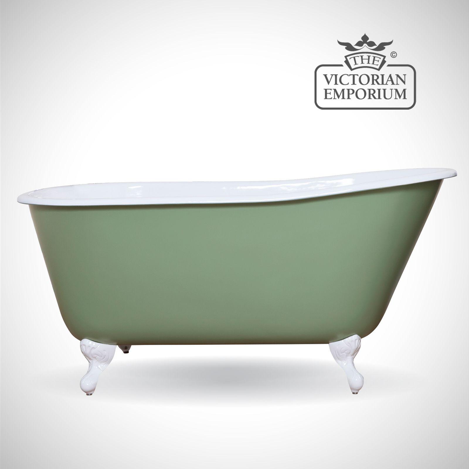 Lillian cast iron bath - painted | Baths