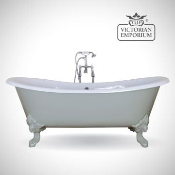 Bellevue cast iron bath - painted